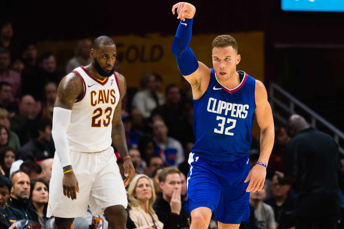 LeBron James y Blake Griffin
