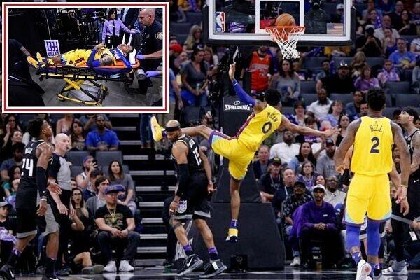 La espeluznante caída y lesión en la NBA